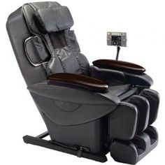 Real Pro Ultra Massage Lounger - Black