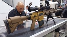 HK Shows Off the US Army's M110A1 CSASS Compact Sniper Rifle | SHOT 17 - The Firearm BlogThe Firearm Blog