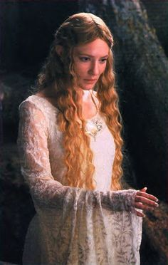 Cate Blanchet as Galadriel
