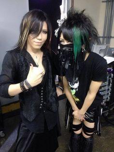 Aoi. Takemasa. The GazettE x Kiryu.