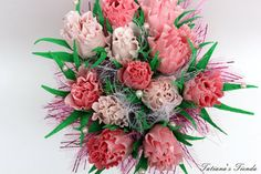 Pink Candy Bouquet Sweet And Unusual Gift Candy by Tatiana's Tienda, $43.00