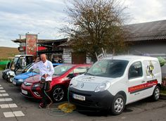 Josef Zotter an his collection of his electric cars :) Electric Cars, Van, Vehicles, Collection, Vans, Electric Vehicle, Vehicle, Tools