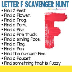 ABC Countdown Scavenger Hunts - Primary Playground games for toddlers Preschool Learning Activities, Preschool Lessons, Alphabet Activities, Home Learning, Summer Activities, Family Activities, Learning Time, Kindergarten Literacy, Early Literacy