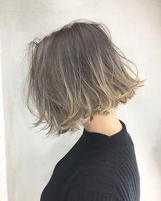 能瀬 皓次 フリーランス美容師さんはInstagramを利用しています:「フェザーボブ☆☆☆ スタイリングも超簡単でお手入れも楽です☆☆☆ 首が見えると全身のバランスも取りやすいのでいろんなレングスでオススメ☆☆☆ カラー剤は #キャラデコカラー 🙆🏼🙆🏼🙆🏼 @album_hair…」