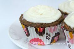 Yummy Carrot Cake Pineapple Pecan Cupcakes #Recipe