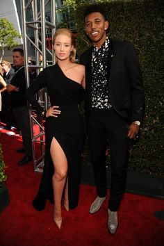 Pin for Later: Celebrities Share the Spotlight With Sports Stars at the ESPYs Iggy Azalea and Nick Young