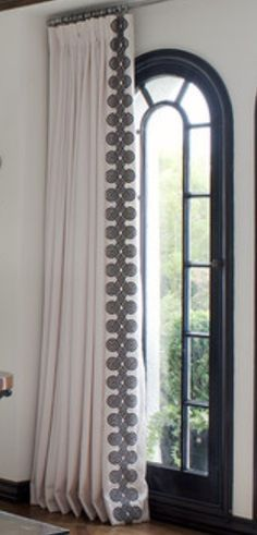 trim leading edge drapery - Google Search