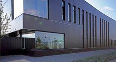Hunter Douglas Contract at Pion/Piping Care,  QuadroClad™ Metal Façade Panels