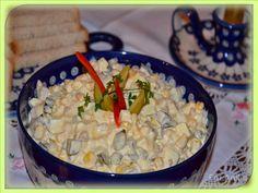 Domowa kuchnia Aniki: Sałatka jajeczna z chrzanem