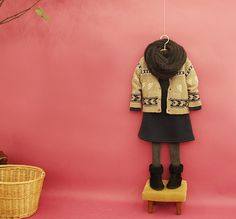 Children's Fair Isle Knit Cardigan by The Jany