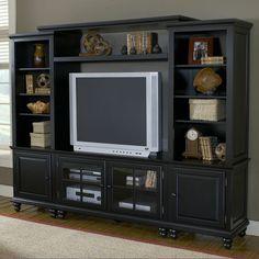"Hillsdale Furniture Grand Bay 95"" Entertainment Center"