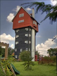 The House in the Clouds, Suffolk, England. 40 Bizarre and Incredible Building Design – Part 2 | Your Amazing Places
