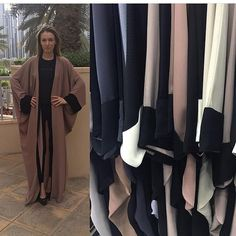 We have a lot of colors ) abaya by OC fashion design . Free size . Price :  AED - 650 USD - 180 EUR - 160 GBP - 125 SAR - 665 KWD - 55