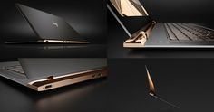 HPs Spectre - Thinnest Notebook in the World - High #Web #Ideas