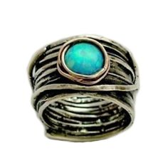 $198.00 Eye of Ocean Ring, beautiful but would never pay 200 bucks for a ring lol