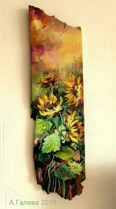 Woodart Painted Wood, Fungi, Painting On Wood, Wood Art, Fiber Art, Outdoor Blanket, Craft Ideas, Signs, Crafts