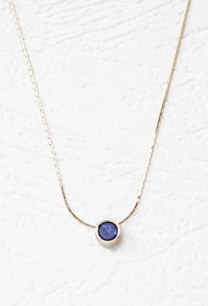 Faux Stone Charm Necklace | Forever 21 - 1000077918