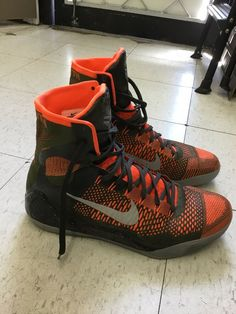 timeless design 8db5b b2243 Nike Kobe IX 9 Elite Sequoia Mens Size 13 US Kobe Bryant Mamba Basketball  Shoes