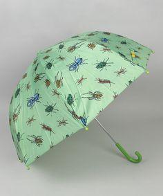 This Green Bug Umbrella is perfect! #zulilyfinds