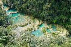 Semuc Champey Natural Pools And Caves, one of the most beautiful places in Guatemala near Lanquín. K'an-Ba Caves, River Tubing, El Mirador. Cool Places To Visit, Great Places, Kenai River, Guatemala, Travel 2017, Lake Atitlan, Plan Your Trip, Where To Go, Adventure Travel