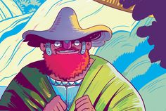 Farmer Giles of Ham Jrr Tolkien, Farmer, Ham, Dragon, Behance, Gallery, Check, Projects, Character