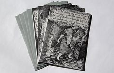 La Befana the Italian Christmas Witch  Set of Four letterpress cards