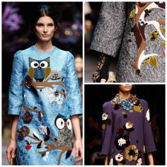 Dolce and Gabanna - Fall 2014 from Style.com