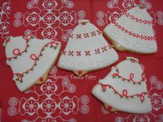 images of decorated bell cookies | christmas bells | (A) Decorating Christmas Cookie Ideas