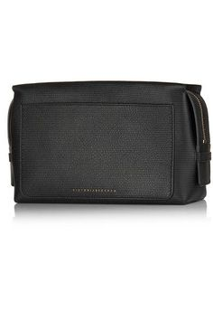 Victoria Beckham Estée Lauder - Textured-leather cosmetics case 1025bae77ac39