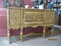 $900 antique sideboard buffet by J.L. Metz Furniture