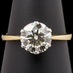 Diamond Solitaire Ring C2/34