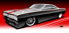 """Thom Taylor Car Woodies Drawings 