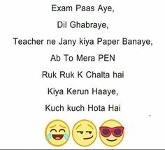 66 Super Ideas funny school jokes in hindi Exam Quotes Funny, Exams Funny, Best Friend Quotes Funny, Funny Attitude Quotes, Cute Funny Quotes, Funny School Jokes, Funny Jokes In Hindi, Very Funny Jokes, Bff Quotes