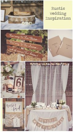 A little rustic inspiration on this Thursday evening for your wedding  planning! Everything you see here is actually from my own wedding-  everything was made by me (even the paper flower backdrop)! (calligraphy  was by A Fabulous Fete).You can also check out my shop here.