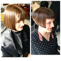 rockalilycuts3 - Louise Brooks inspired 1920s bob #haircut via LBS