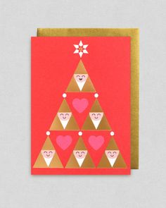 Christmas card by Kelly Hyatt | Lagom Design
