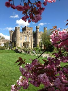The Augill Castle in the UK! A fairytale vacation. You can actually stay here and wake up like a price/princess.