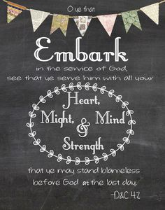 2015 Theme Embark in the service of God Bunting- Free Download