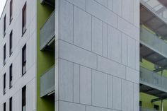 Arch: Steinmetz De Meyer / apartments in Luxemburg. EQUITONE [tectiva] facade panels. equitone.com