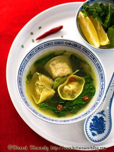 Seitan Dumplings - Vegan