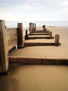 Winterton-on-Sea beach, Norfolk, UK ©Peter Robins