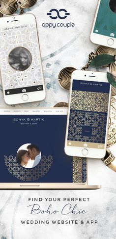 Wedding website and app.  What's your wedding style?  Find it on Appy Couple...