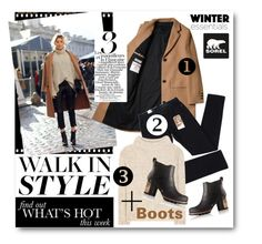 """""""Kick Up the Leaves (Stylishly) With SOREL: CONTEST ENTRY"""" by nikkisg ❤ liked on Polyvore featuring SOREL, Chanel, Levi's, Tom Ford and sorelstyle"""