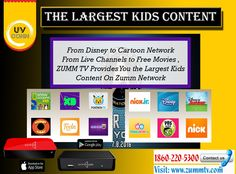 Try ZUMMTV IPTV Service . Enjoy , Cartoon , Movies & Much More Only On ZUMMTV IPTV provider We have 2000+ Multi-Cultural Channels and wide variety of both Hollywood and Bollywood movies to browse from!! For More Queries : Call : 647-284-000 Visit http://zummtv.com/ today!