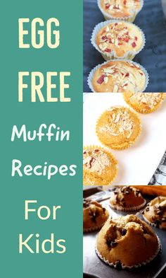 Egg free Muffin Recipes for kids: These kid friendly muffin recipes include banana chocolate chip muffins, tutti frutti muffins, mango muffins, chocolate muffin etc. Healthy Muffin Recipes, Fun Baking Recipes, Easy Cake Recipes, Sweets Recipes, Fun Desserts, Delicious Desserts, Peanut Butter Muffins, Banana Chocolate Chip Muffins, Chocolate Chip Recipes