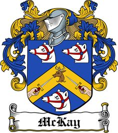 mckay crest | Family Crests Download Royalty free photo McLoskie Family Crest / I...