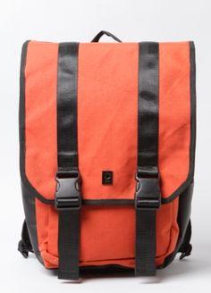Rota Water-Resistant Nylon Backpack