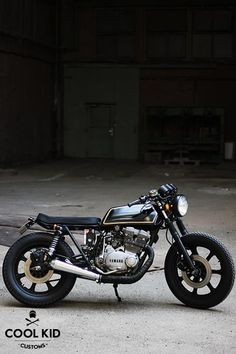 #Yamaha XS500 by Cool Kid Customs