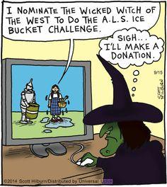 Wicked Witch ALS Ice Bucket Challenge