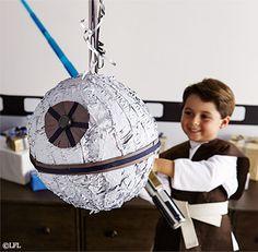 Star Wars Party | Death Star™ Piñata | Pottery Barn Kids